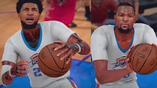 NBA 2K16 MyCAREER S4 - KD Drains Half-court Shot?! Shawn Catches A Body!!