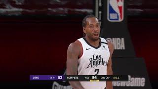 Kawhi Leonard Full Play vs Phoenix Suns | 08/04/20 | Smart Highlights