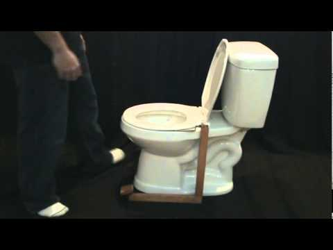 The Step Amp Go Is A Toilet Seat Lifter Youtube