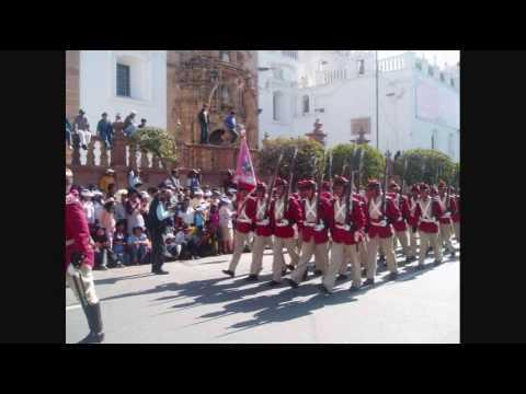 Marcha de los Colorados de Bolivia