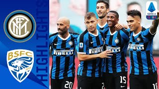 Inter 6-0 Brescia | Young and Eriksen Score as Brilliant Inter put SIX past Brescia! | Serie A TIM