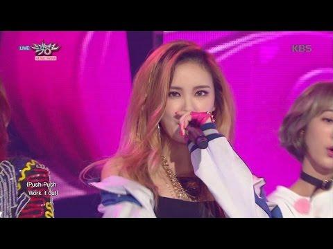 [kbs world] 뮤직뱅크 - EXID, 더 핫해진 역주행 여신들의 귀환 'HOT PINK'.20151120