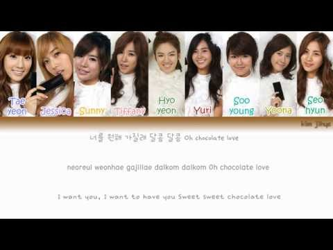 Girls' Generation (SNSD) (소녀시대) - Chocolate Love Lyrics (Han|Rom|Eng|Color Coded) #TBS