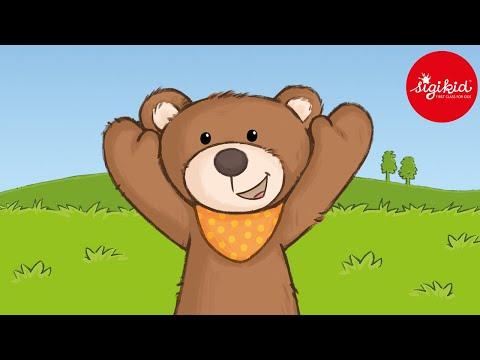 Der kleine Bär, der das Abenteuer suchte - eine Hörgeschichte für Kinder ab 2 Jahren