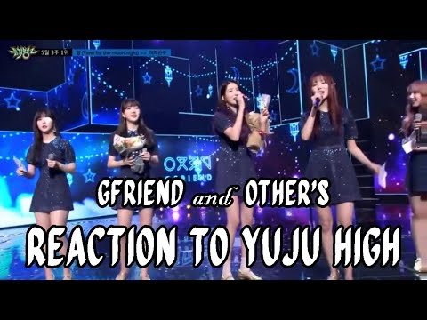 GFRIEND & Other's Reaction to Yuju High Note