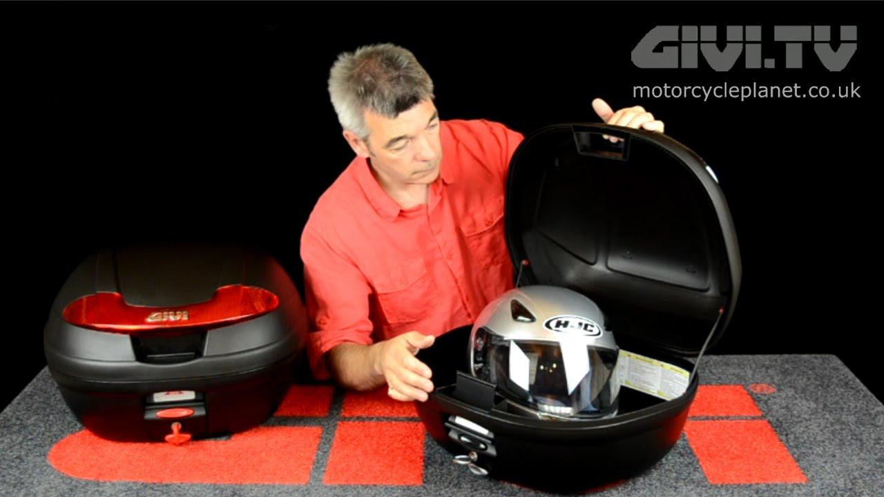 Review mẫu thùng Givi E340N