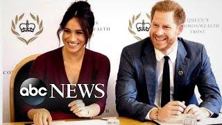 Queen announces new details about Harry, Meghan