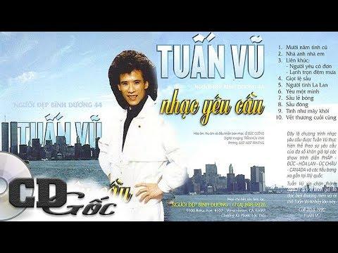 CD TUẤN VŨ Nhạc Yêu Cầu - CD Gốc Nhạc Vàng Xưa (Người Đẹp Bình Dương 44)