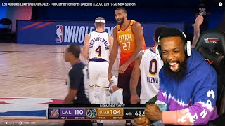 LEBRON AND AD EMBARRASED DPOTY! Los Angeles Lakers vs Utah Jazz - Full Game Highlights