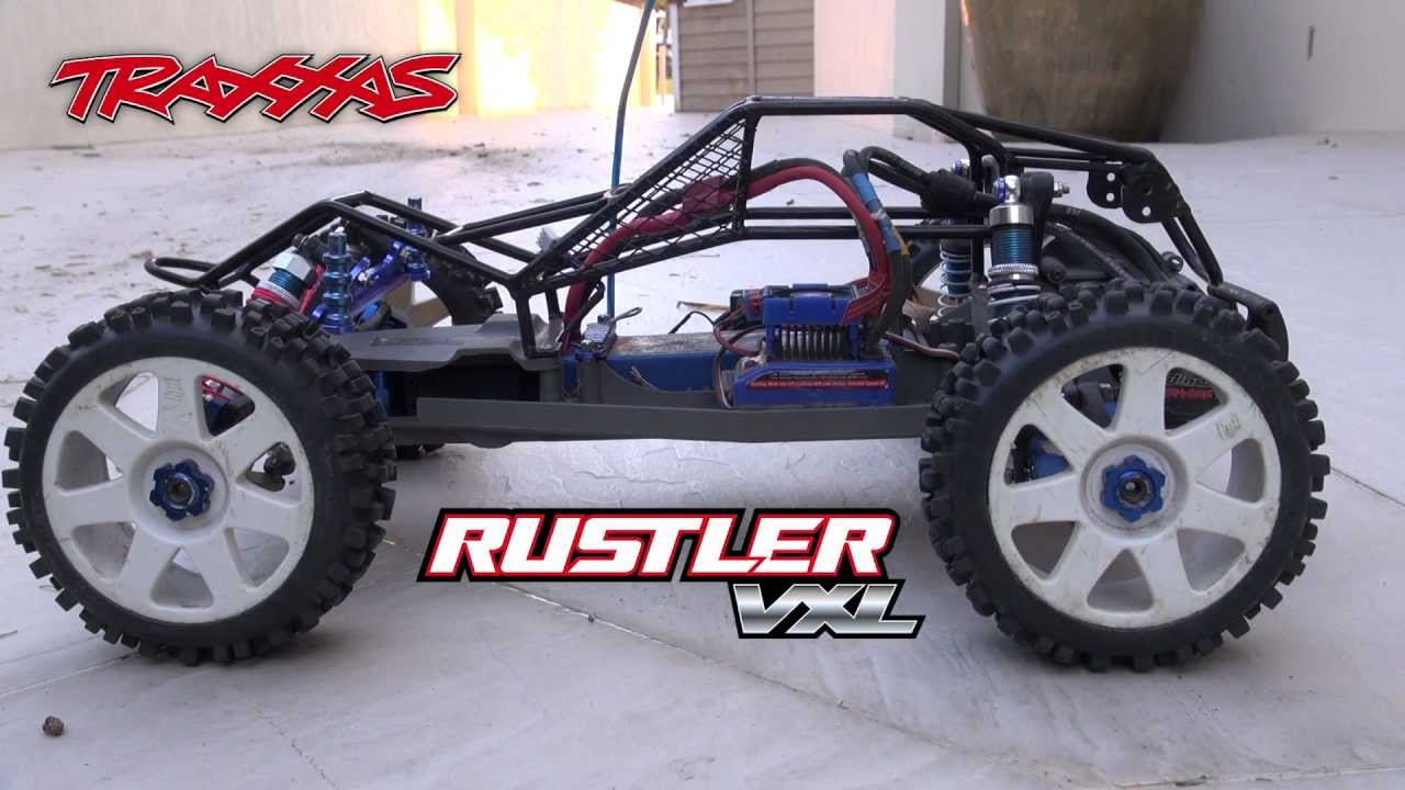New Rc In The Garage Traxxas Rustler Vxl With A Few Hop