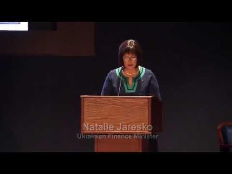 U.S.-Ukraine Foundation Forum - Minister Natalie Jaresko