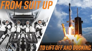 Crew Dragon Launch Day Timeline: From Suit up to Docking with the ISS