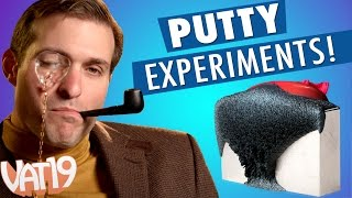 Burning Questions: Thinking Putty
