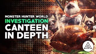 Monster Hunter World   The Canteen, Cooking & Food Skills in Depth