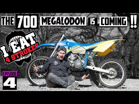 The Ultimate 2 Stroke Dirt Bike - The 700cc Megalodon is Coming! - Project 700 EP4