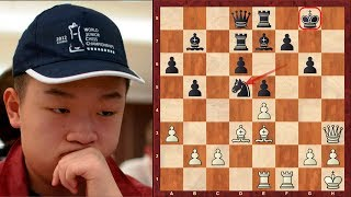 """An absolutely insane immortal chess game by Wei Yi ! - """"Game of the Decade"""" is Susan Polgar's tweet!"""