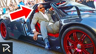 """This Is How Dwayne """"The Rock"""" Johnson Spends His Millions"""