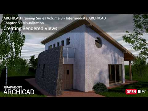 Creating Rendered Views - ARCHICAD Training Series 3 – 42/52