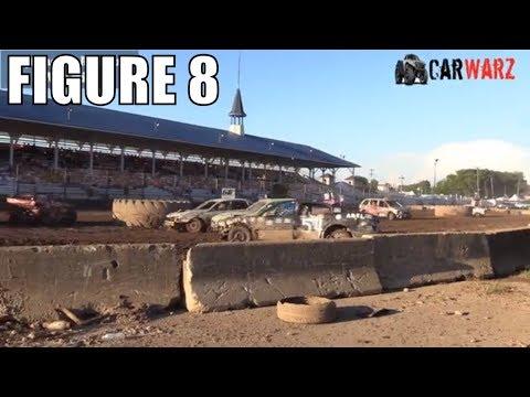 Figure 8 Class 4 Demolition Derby At Unique Motorsports In Ionia Michigan 2018