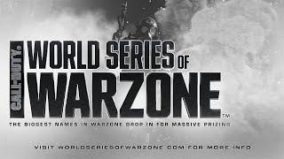 Warzone announces a World Series