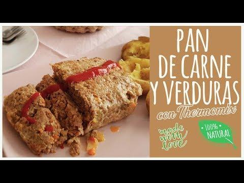 Pan de carne y verduras con Thermomix