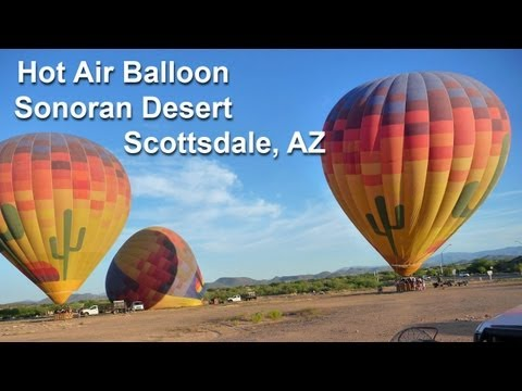 3D Hot Air Balloon - Our Next Adventure Travel Show - Scottsdale Arizona by AdventureArt