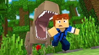 "Minecraft Jurassic World - Jurassic Park - RUN!!! #9 - ""Jurassic Craft Roleplay"
