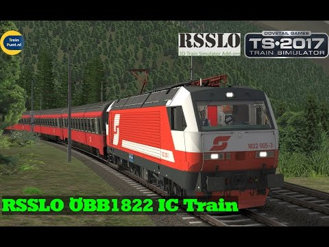 RSSLO ÖBB1822 IC Train | Brennerbahn | Train Simulator 2017