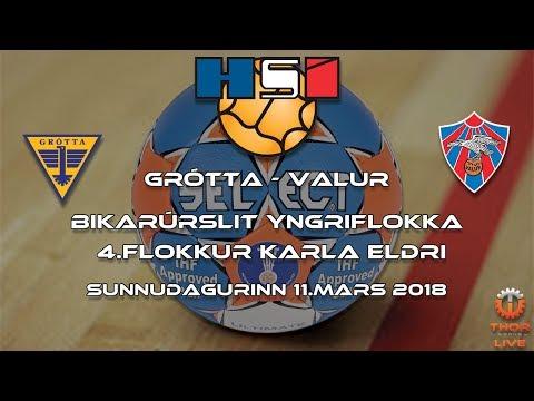 Bikarúrslit 2018 | Grótta - Valur | 4.fl.karla eldri
