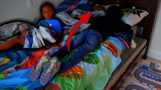 WHO IS THAT IN YOUR BED PRANK!!!