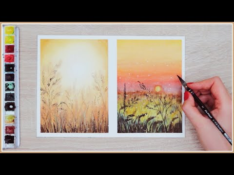 Little Known Watercolor Painting Technique That'll INSTANTLY Create Depth!