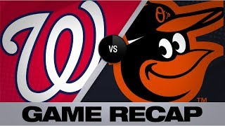 Mancini homers twice as O's defeat the Nats | Nationals-Orioles Game Highlights 7/17/19