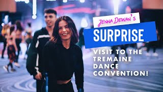 SURPRISE Drop In On Tremaine Dance Convention!