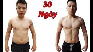 NTN - Thử Thách 30 Ngày Tập Gym (AMAZING 30 DAYS TRANSFORMATION)