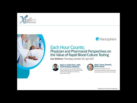 Each Hour Counts: Physician and Pharmacist Perspectives on the Value of Rapid Blood Culture Testing