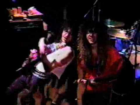 Cacophony Savage live in japan 89 rare video