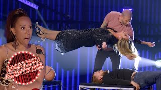 INSANE Gravity Defying Acts On Got Talent | Amazing Auditions