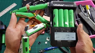 Cách Kiếm Cell Pin Laptop Cũ, Test Dung Lượng và Đo Nội Trở