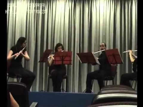 Concierto para cuarteto de flautas (Anton Reicha) - I. ALLEGRO / II. ANDANTE
