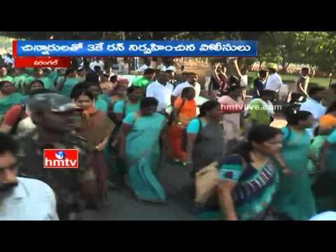 Childline Se Dosti; Walkathon, 3K run by children in Warangal