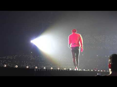 151010 EXO-LOVE CONCERT in DOME Beautiful Goodbye KAI
