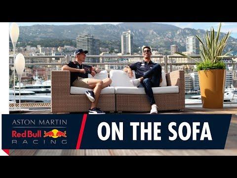 On the Sofa: Monaco Special! | Daniel Ricciardo and Max Verstappen talk F1