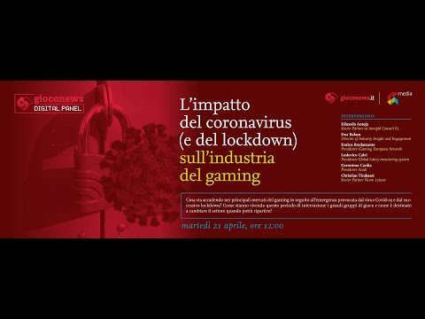 "Gioco News Digital Panel: ""L'impatto del coronavirus (e del lockdown) sull'industria del gaming"""