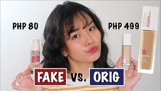 FAKE vs ORIG: MAYBELLINE SUPERSTAY FOUNDATION! OMG!