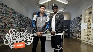 """Sean """"Diddy"""" Combs Goes Sneaker Shopping With Complex"""