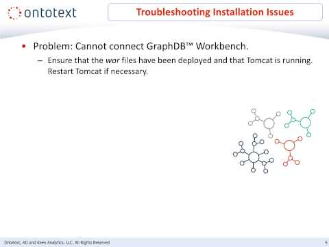 GraphDB Fundamentals - Module 10: Troubleshooting