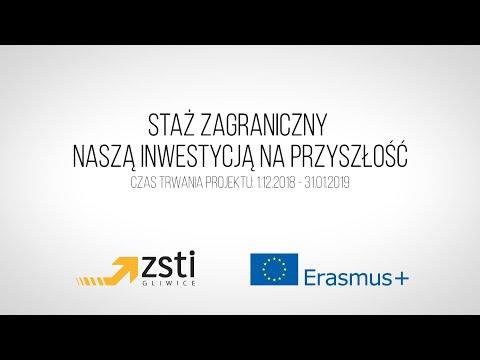 Staż zagraniczny naszą inwestycją na przyszłość- program Erasmus w ZSTI