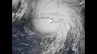 Hurricane Michael satellite video