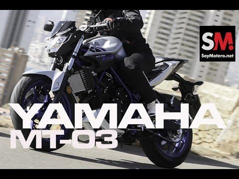 Prueba Naked: Yamaha MT 03 2016
