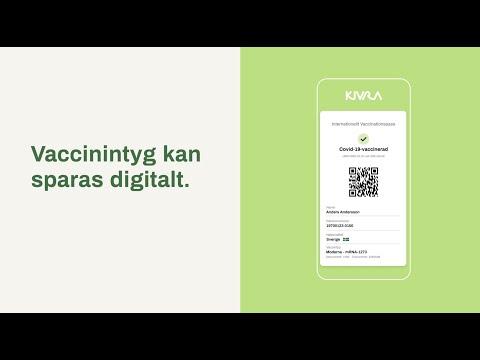 Kivra   Vaccinationsintyg med digital brevlåda